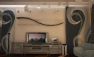 Гостиная, холл, кухня общий вид<br>дизайн квартиры, дизайн квартиры Киев, дизайн интерьера, дизайн-проект, дизайн интерьера Киев, дизайн-проект Киев