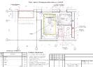 План потолка. Размещение осветительных приборов<br>Проект, дизайн квартиры, дизайн-проект, дизайн интерьера