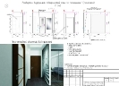 Развертки внутренних поверхностей стен по помещению 1 (прихожая). Перспективный объемный вид прихожей<br>Проект, дизайн квартиры, дизайн-проект, дизайн интерьера